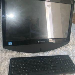 Touch screen desktop computer
